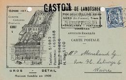 Carte Publicité   , Gand ,Gent , Louis De Landtsheer , Gros - Détail - Gent