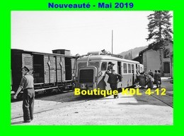 AL 565 - Autorail Billard A 150 D En Gare - LAMASTRE - Ardèche - CFD Vivarais - Trains