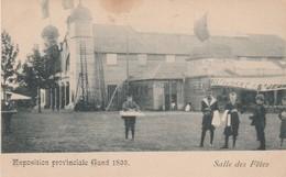 Exposition Provinciale  Gand 1899 ,,Gent ,  Salles Des Fêtes - Gent