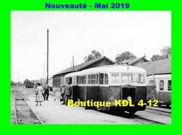 AL 572 - Autorail De Dion ND N° 402 En Gare - TOULON SUR ARROUX - Saône Et Loire CFD - Trains
