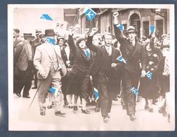 Liege Photo Greve Pour La Semaine De 40 Heures Et Conges Payes 1936 ( Voire Dos ) - Seraing