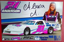 Alexa Anderson - Authographs