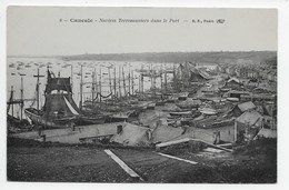 Cancale - Navires Terreneuviers Dans Le Port - Cancale