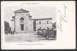 Italia  -  FOGNANO, Chiesa Parrocchiale ( S. Pietro )  1902 - Ravenna