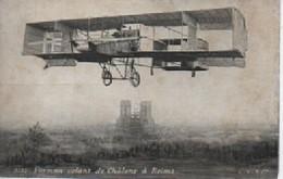 3733  FARMAN  VOLANT DE CHALONS A REIMS - Aviateurs