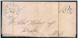 Stati Uniti/États-Unis/United States: 25 - 11 - 1842, New Castle - Stati Uniti