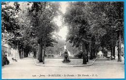 CPA JERSEY - St Saint-Helier - La Parade - The Parade ° E.L. 132 - Jersey