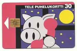 Finlandia - Tessera Telefonica Da 30 Units T605 - Finlandia
