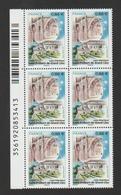 FRANCE / 2019 / Y&T N° 5334 ** : Abbatiale De St-Philbert De Grand-Lieu X 6 Dont 3 BdF G Code-barres - Frankreich