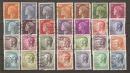 Luxembourg - Grand Duc Jean Et Grande Duchesse Joséphine Charlotte - Petit Lot De 28° - Stamps