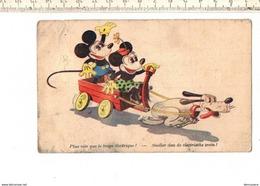 48642 - Plus Vite Que Le Train Electrique - Sneller Dan De Electrische Trein- Geschonden Zie Scan - Disney