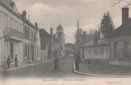 A5- 10) AIX EN OTHE (AUBE) RUE DE LA GAIETE  - (ANIMEE  - 2 SCANS) - France