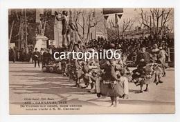 - CPA AIX-EN-PROVENCE (13) - CARNAVAL 1928 - De Cannes Sur Canes, Nous Venons Rendre Visite à S. M. Carnaval - - Aix En Provence