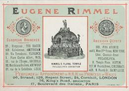 Trade Card  Eugene  Rimmel  LONDON  Etc49 - Trade Cards