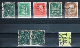Perfins - Lochungen  (2 Bilder) - Stamps