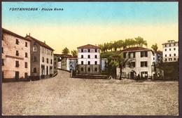 Cartolina Fontanigorda Piazza Roma - Viaggiata - - Genova