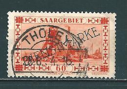 Saar MiNr. D 29 Vollstempel   (0696) - 1920-35 Saargebiet – Abstimmungsgebiet