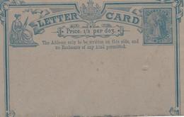 Victoria: Letter Card - Unused - Australie