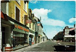 CPSM -  03 - COMMENTRY - Rue Jean Jacques Rousseau - - Commentry