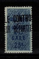 Algerie - Colis Postaux N** Luxe YV 7b (bleu Sur Verdâtre) - Algerien (1924-1962)