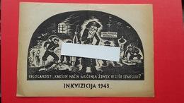 OF(Osvobodilna Fronta).Propaganda.2.world War-original!Belogardizem(belogardist).INKVIZICIJA - Unclassified