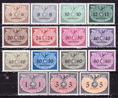Germania1940 Occupazione Polonia  Servizi Serie Completa Nuova MLLH - Germany