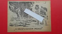 OF(Osvobodilna Fronta).Propaganda.2.world War-original!Belogardizem(belogardist).V KRISTUSOVEM IMENU! - Unclassified