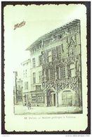 CPA POTAGE MAGGI-12-VALENCE-MAISON GOTHIQUE-(26)-1935 - Advertising