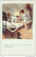 CPA-A866-POULBOT-LUTTE Contre Le TAUDIS-ELLES DORMENT DONC JAMAIS... - Humor