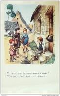 CPA-A868-POULBOT-LUTTE Contre Le TAUDIS-POURQUOI QUE TU VIENS PAS ... - Humor