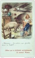 CPA-A876-POULBOT-LUTTE Contre Le TAUDIS-MAMAN ..LE COCHON Qui ...pub BLEDINE - Humor