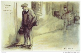CPA-A899-POULBOT-ILLUSTRATION-L'USINE Est FERMEE-1920 - Humour