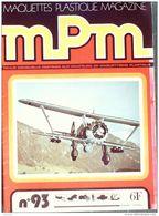 MAQUETTES-PLASTIQUE MPM-1979- 93-SOMMAIRE DETAILLE + PHOTOS - France