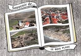Ile De Ré - Souvenir De ... Le BOIS PLAGE - Vues Multiples - Livre Ouvert - Ile De Ré