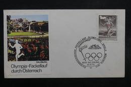AUTRICHE - Enveloppe FDC  En 1972 , Jeux Olympiques - L 32516 - FDC