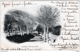BELLVER DE CERDANYA CERDANA CERDANO RIO DE CAROL 1902 PRECURSEUR TBE - Espagne