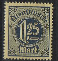 PIA - GERMANIA - 1920-22  :  Francobollo Di Servizio  -  (Yv 26) - Service