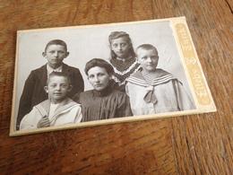 KOPENHAGEN - KJOBENHAVN - DANMARK - ELLEBY & TUERCK - 1 - MOTHER WITH FOUR CHILDREN - Persone Anonimi