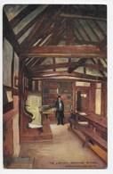 The Library, Grammar School, Stratford-on-Avon - Tuck Oilette 7179 - Stratford Upon Avon