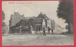 Vilvoorde / Vilvorde - La Chaussée De Louvain .... Geanimeerd ( Verso Zien ) - Vilvoorde