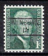 USA Precancel Vorausentwertung Preo, Locals Iowa, Minburn 839 - Vereinigte Staaten