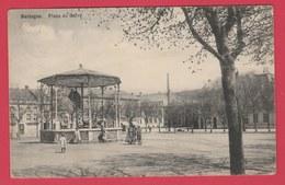 Bastogne - Place Du Carré ... Kiosque -1910 ( Voir Verso ) - Bastogne
