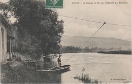 CPA - AK Pagny Sur Mosel Passage Du Bac Fähre Ferry Frontière A Pont A Mousson La Lobe Arry Corny 54 Meurthe Et Moselle - Pont A Mousson