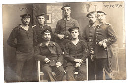 MILITARIA - CARTE PHOTO - 1914 - Groupe De Militaires - Feldpostkarte - War 1914-18