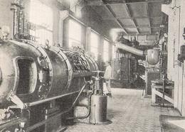 GUERVILLE Sté Des Ciments Français Salle Des Machines   1922 - Unclassified