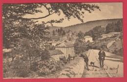 La Roche En Ardenne - Route De Bastogne ... Personnages -1940 ( Voir Verso ) - La-Roche-en-Ardenne