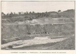 ARGENTEUIL Carrière Volambert Ets Poliet Et Chausson  1922 - Unclassified