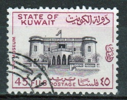 Kuwait 1968 Single Used 45 Fils Stamp From The National Museum Set.. - Kuwait