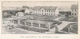 PLAISIR Asile Départemental Des Petit Prés  1922 - Unclassified