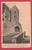 Lobbes - Entrée De L'Eglise Et Rue De L'Eglise ( Voir Verso ) - Lobbes